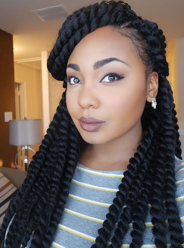 Crochet Braids Hairstyles Crochet Braids Inspiration of curly box braids hairstyles