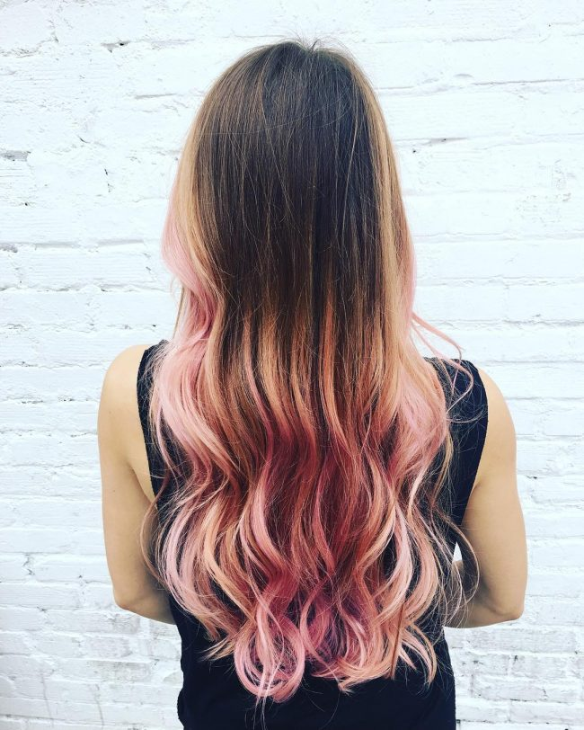 Trendy ombre hair color ideas 12