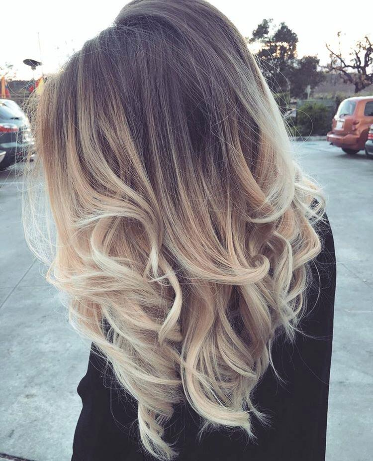 Trendy ombre hair color ideas 14