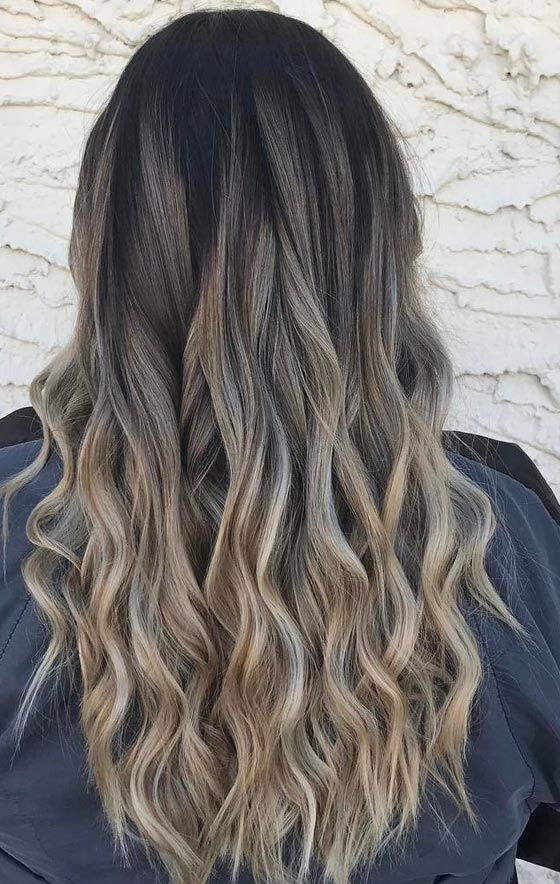 Trendy ombre hair color ideas 15