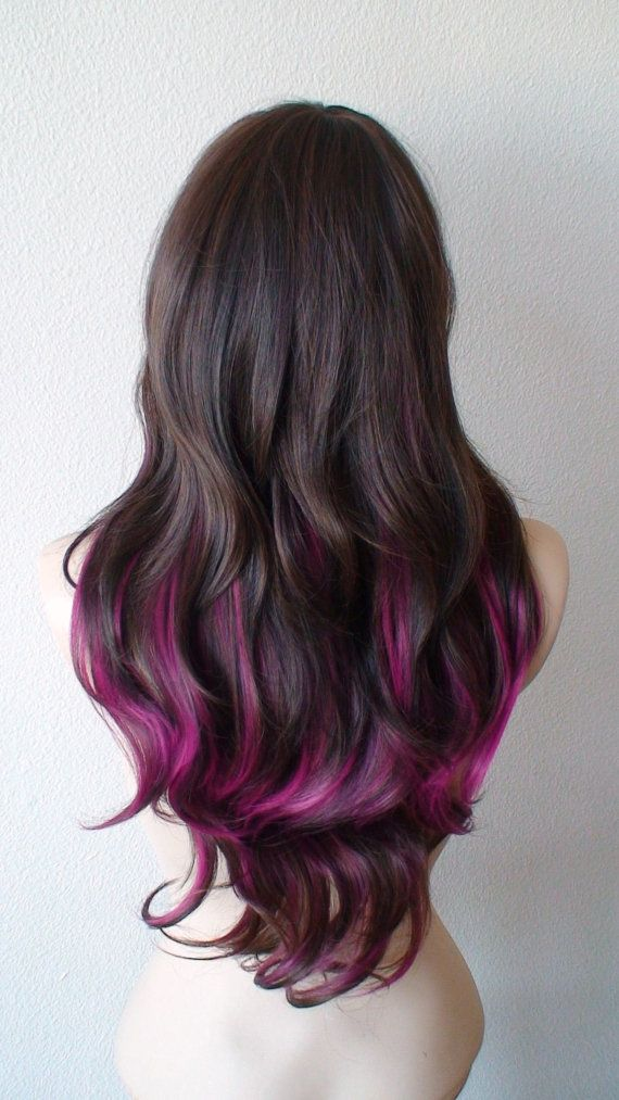 Trendy ombre hair color ideas 16