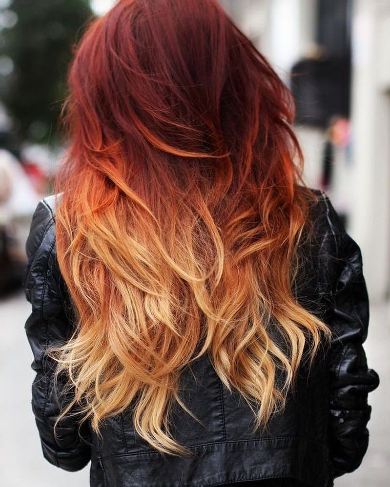 Trendy ombre hair color ideas 20