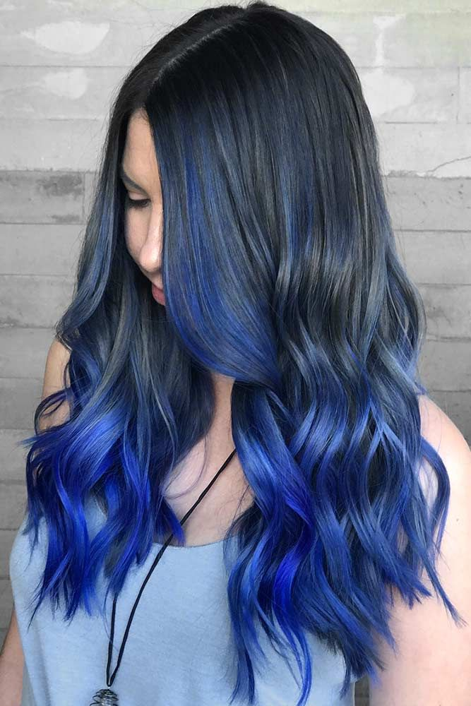 Trendy ombre hair color ideas 7