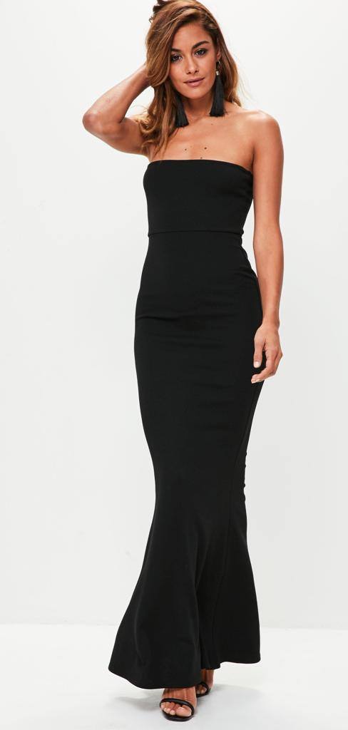 Hottest Black Dresses For Christmas Eve Party 12
