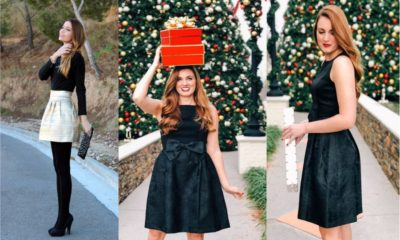 35 Hottest Black Dresses For Christmas Party