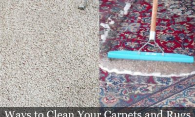 Ways to Clean Your Carpets and Rugs