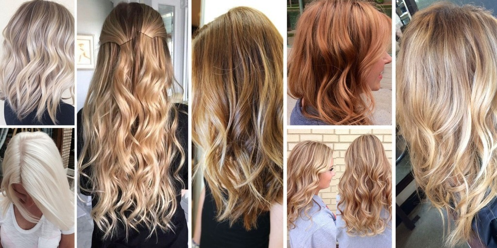 Dye in cold blond tones