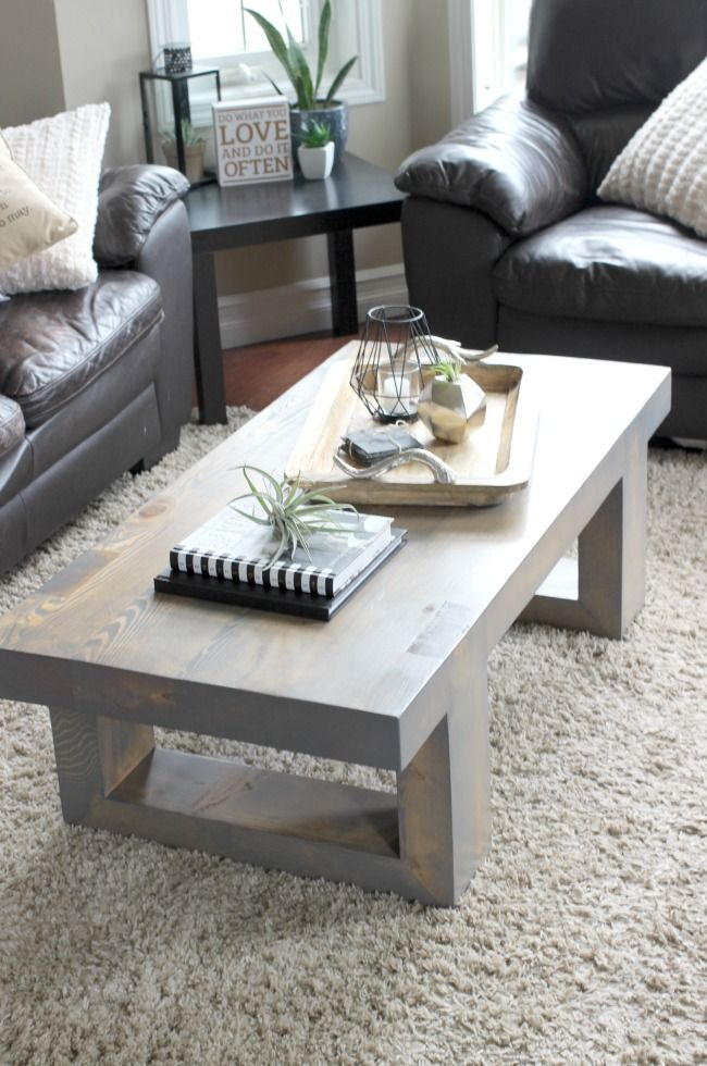 Latest Modern wooden coffee table designs 1