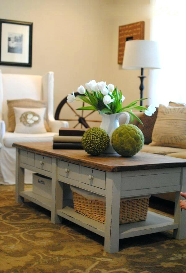 Latest Modern wooden coffee table designs 19