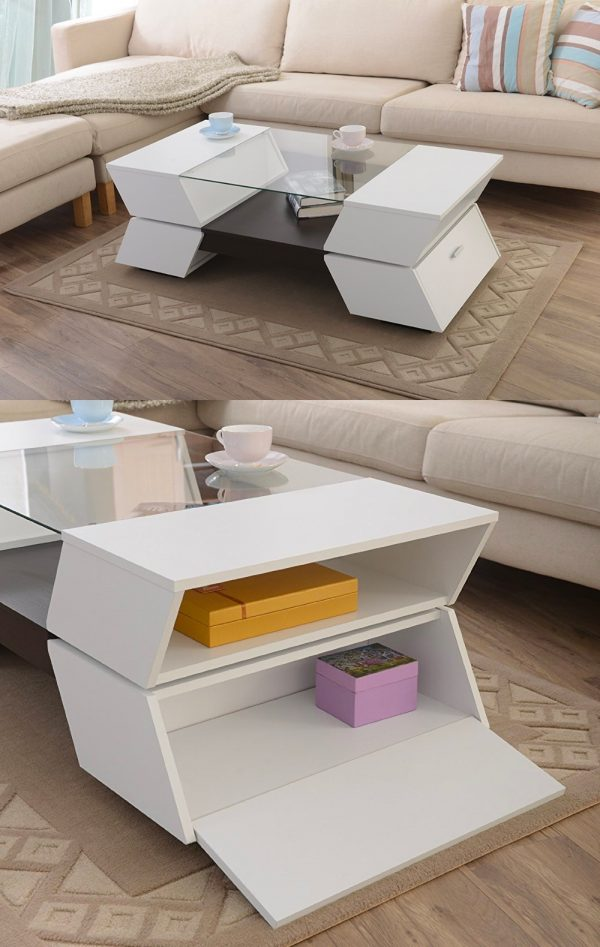 Latest Modern wooden coffee table designs 9