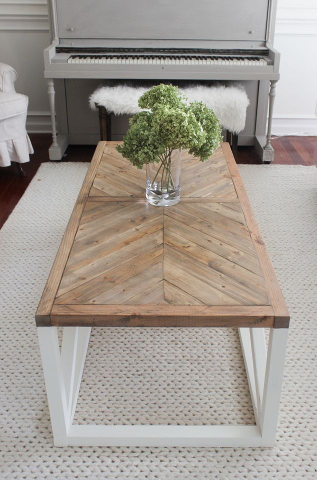 Latest Modern wooden coffee table designs