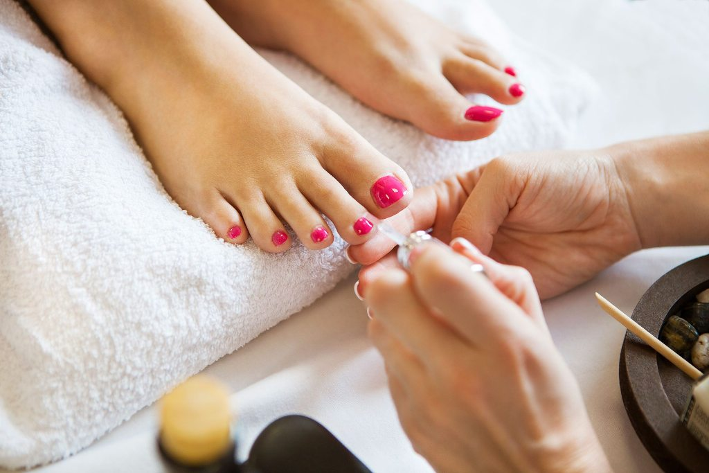 Painting over your cuticles