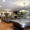 Spacious Basement Design Ideas Feture