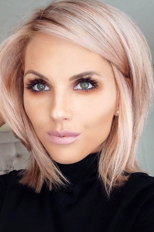 50 Chic Short Bob Hairstyles and Haircuts for Women in 2019.