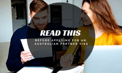 Read This Before Applying For An Australian Partner Visa